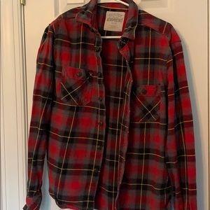 Aeropostale Flannel Shirt. Size Medium